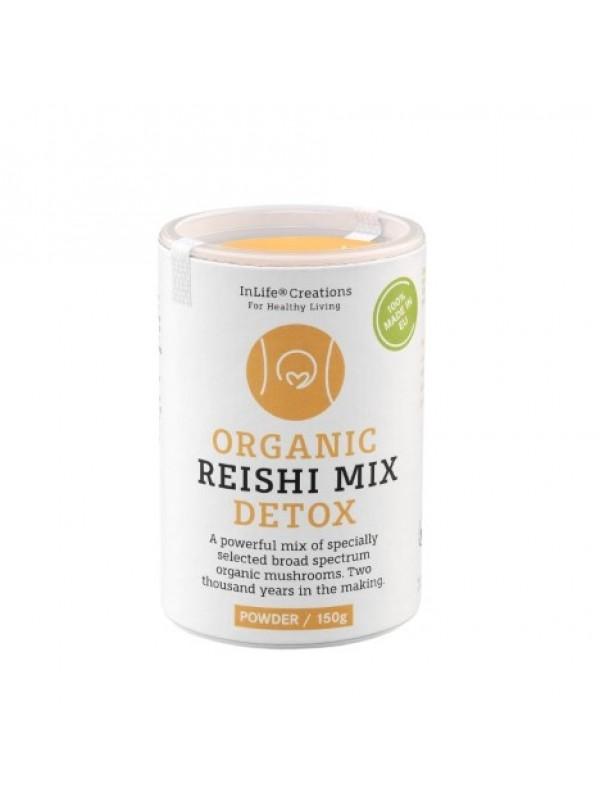 ORGANIC REISHI MIX DETOX (POWDER, 150 G)