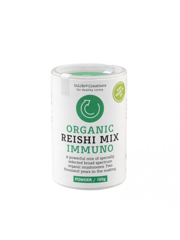 ORGANIC REISHI MIX IMMUNO (POWDER, 150 G)
