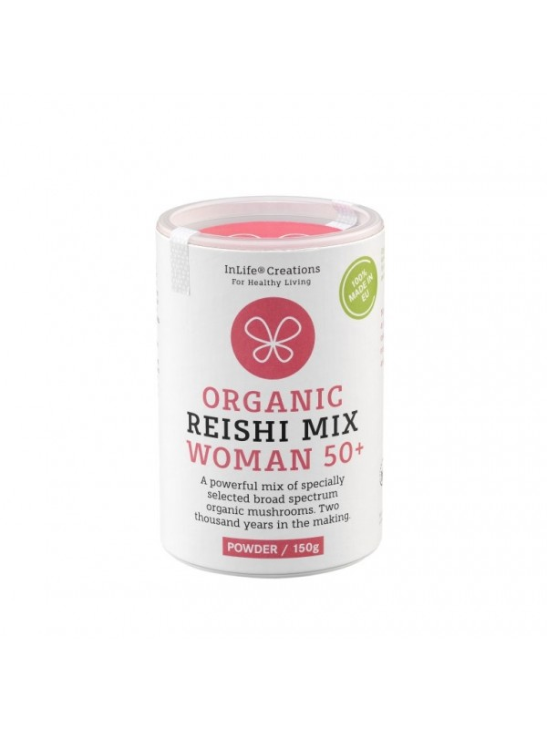 ORGANIC REISHI MIX WOMAN 50+ (CASPULE, 180 PCS)